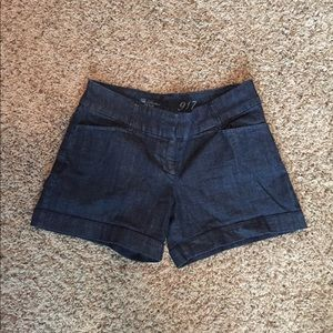 The Limited denim shorts size 4